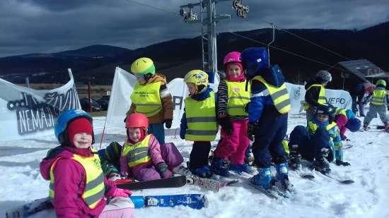 Lyžařský výcvik 24. - 28. února - Mateřská škola